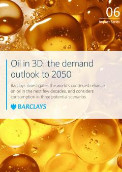 Oil in 3D: the demand outlook to 2050