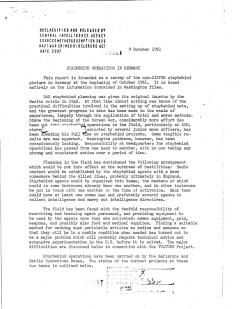 CIA: Staybehind Operations in Germany