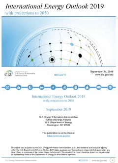 International Energy Outlook 2019