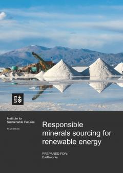 Responsible minerals sourcing for renewable energy