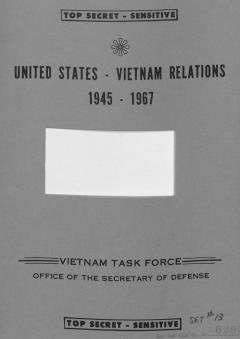 United States – Vietnam Relations, 1945 – 67 // Part IV. B. 4.: Evolution of the War. Counterinsurgency: Phased Withdrawal of U.S. Forces in Vietnam, 1962-64