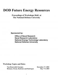 DOD Future Energy Resources