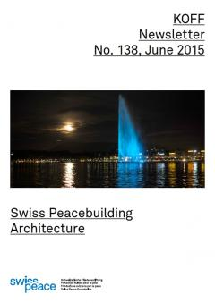 Swiss Peacebuilding Architecture