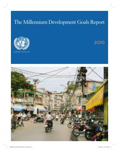 UN Millennium Development Goals Report 2010